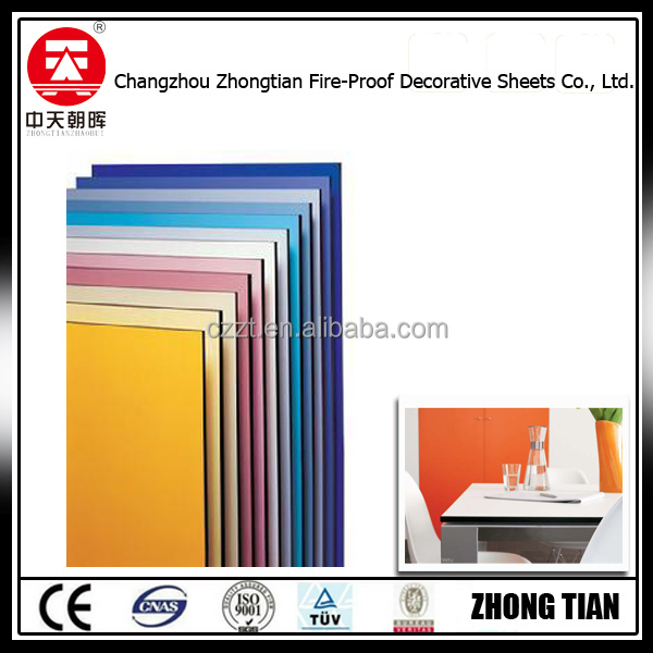 matte/glossy/texture,Matte Surface Finishing and Decorative High-Pressure Laminates / HPL Type solid phenolic core panel