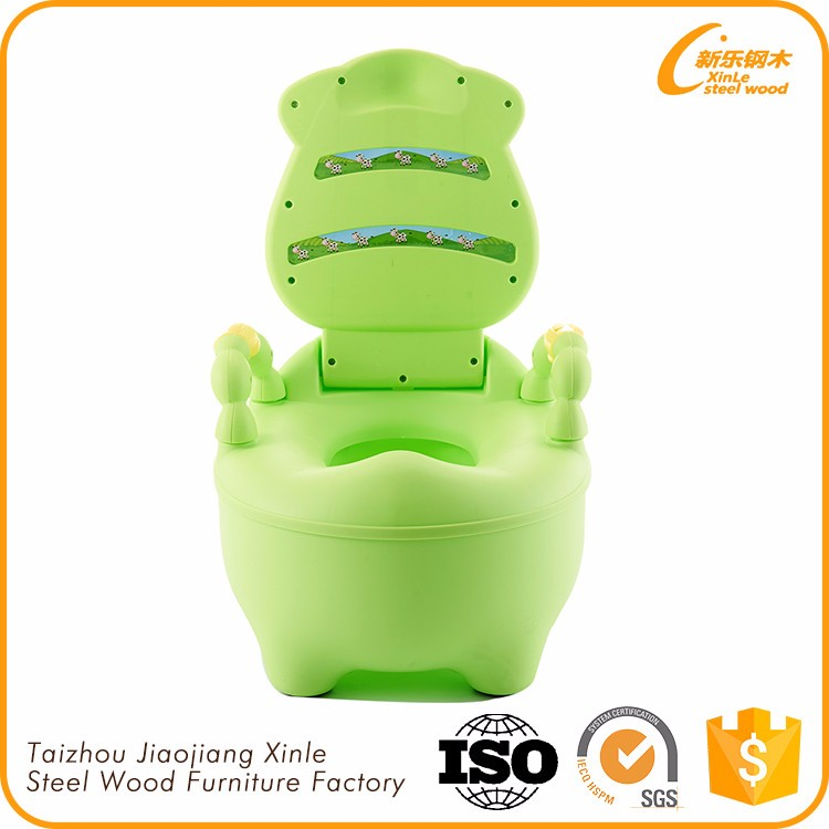 Professional Manufacture Cheap Cute Plastic Baby Potty Chair