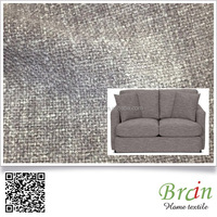 2016 luxury unusual soft slub chenille sofa fabric