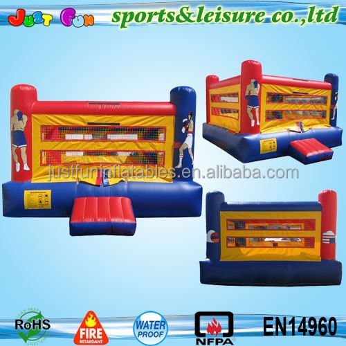 customized size&color cheap inflatable wrestling ring for kids and adults