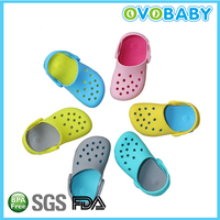 Funny silicone baby sandals