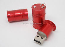 Customized usb drive flash oil tank