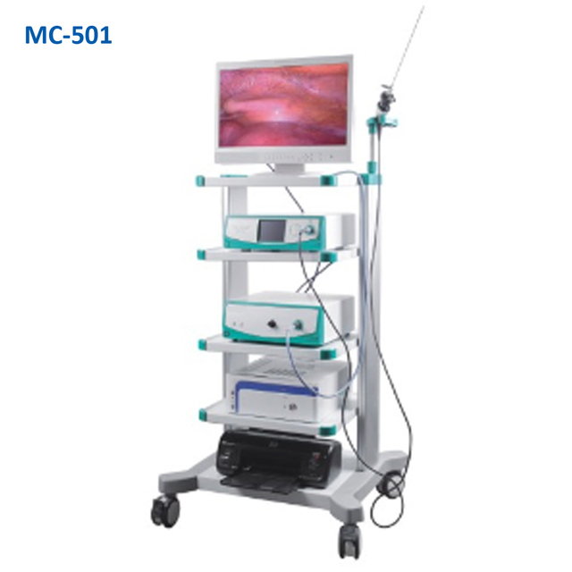 Medical Endoscope Video Laparoscopy Tower Equipment