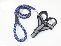 High Quality Custom Adjustable Soft Nylon Dog Harness Wholesale for large dog
