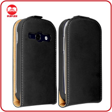 RF Manufacturer Wholesale Bulk Order Ultra Slim Magnetic Vertical Premium Leather Flip Case Cover for Samsung Galaxy Fame S6810