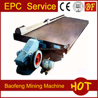 gold mining machine gravity separation shaking table
