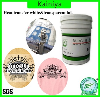 water based heat transfer printing white ink for screen printing