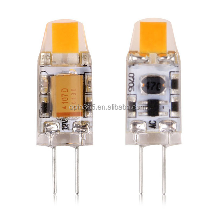 G4 1.5W 0705 COB LED SMD Light Crystal Bulb Warm White/Neutral White/Pure White Home Lamp AC/DC 12V