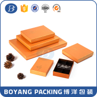 Hot sale manufacture high end new design sweet decorative packaging chocolate boxes