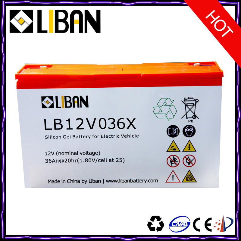12V 36Ah Rechargeable Sealed Deep Cell Lead Acid Battery