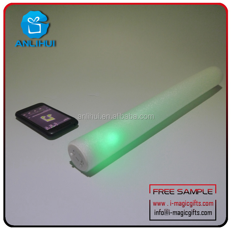 Custom LED Flashing Stick LED Light up Foam Wand for Party