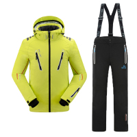 high technical fashion design function outlet adult snowsuit