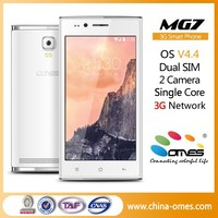 Very Low Cost Model OMES MG7 4.5 inch 3G Dual Sim Android 4.4 Kitkat Cheap chinese touch screen smart phone