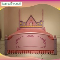 Best selling kids furniture bedroom girl bed set