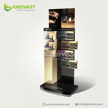 Free flooring high quality custom design mascara display stands