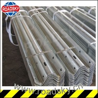highway roadside galvanized iron safety barrier railing