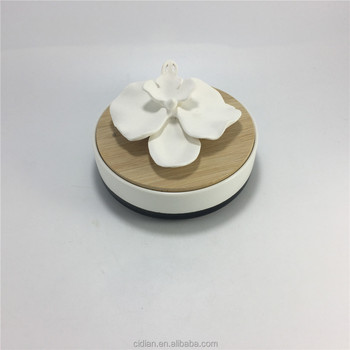 Round Ceramic bee design fragrance essential Aroma diffuser evaporator