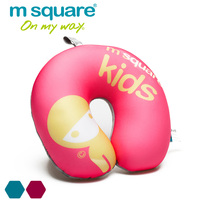 Wholesale logo printed kids bean bag neck pillows for travel