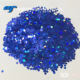 SGS PET 1/10 Laser/Holographic Glitter Hexagon Glitter Powder for leather