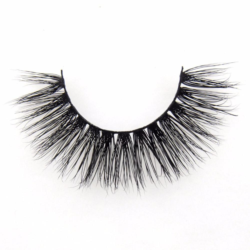 False eye lashes handmade party home Black Thick Soft natural sexy Extension for Beauty Makeup 3D Mink Lashes <strong>A06</strong>