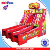 Ghost cricket bowling machine/ electronic bingo machine /amusement machine for sale