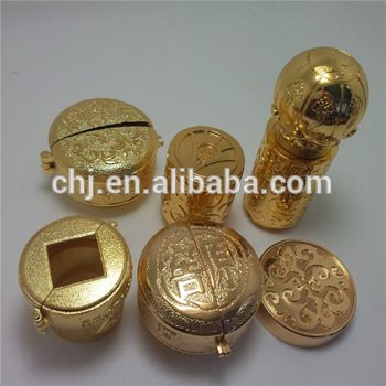 Wholesale Manufacturers High Quality Gold Plated Fancy Luxury Personalized Design Metal Perfume Bottle Cap