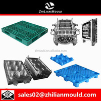 recycle HDPE plastic pallet mold polystyrene plastic injection molding