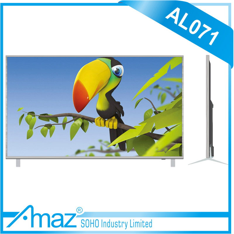 32 Inch Cheap Slim Full HD LCD LED TV AC DC 12V Television
