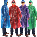 Rubber Rain Cape Adult PVC/PE Rain Wear