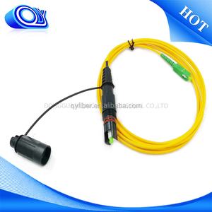 Singlemode Cable Optitap to SC APC type for outdoor waterproof Optic fiber patch cord
