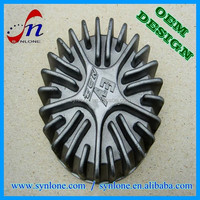 OEM customized aluminum casting parts / motorcycle spare parts