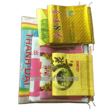50kg aluminize film laminated pp woven wheat grain seed packing bag
