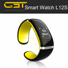 2015 best cheap hand watch mobile phone L12S smart watch new arrival