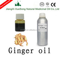 100% pure and nature ginger essential oil factory price,Warm the lung to stop cough