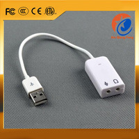 7.1 channel USB sound card audio adapter network K song sound adapter EL-0195