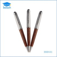 Wooden pens manufacturer free sample promotional items pen wood