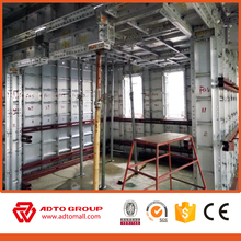 Competitive 4mm panel of walls,beams and colums used for architectural aluminum formwork system