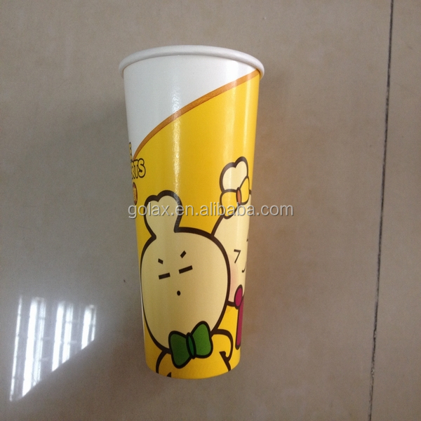 OEM 16OZ coffee paper cup for cold drink perfect for Central and South American market
