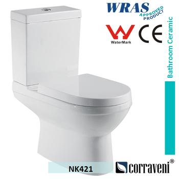 Australian Standard Sanitary Ware Two Pieces Toilet Nk421