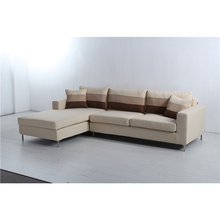 sofa living room furniture L shape <strong>modern</strong> corner fabric sofa designs in foshan furniture market