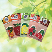 Hot Selling Cotton Paper Card Promotion Aromatic Car Air Freshener