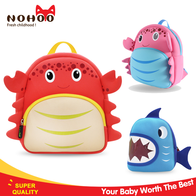 nohoo 2016 china factory school backpack with monster trucks