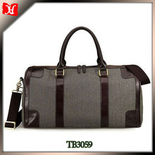 Travel time bag luggage canvas bags expandable men bag