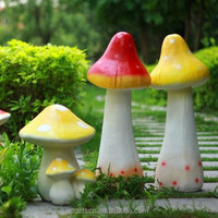large mushroom decorations