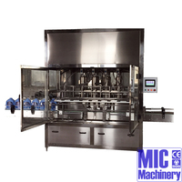 MIC-ZF-8 oil bottle filling line bottle filling system lotion bottle filler with CE Approved speed up to 1500BPH