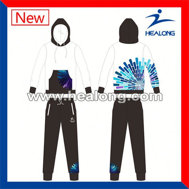 Healong Dye Sublimated Blank Fluorescent Hoodies