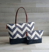 Fashion Popular Chevron Lady Canvas Tote Bags