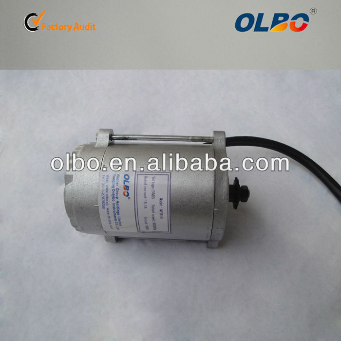 76mm high torque 24v 36V 300-600w permanent magnet dc motor
