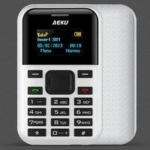 Dropshipping 2017 New 1.3 inch MTK6261D AEKU C8 Feature Mobile phone