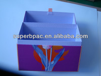 customized cardboard custom printed cosmetic boxes with the ribbon and magnets made in china